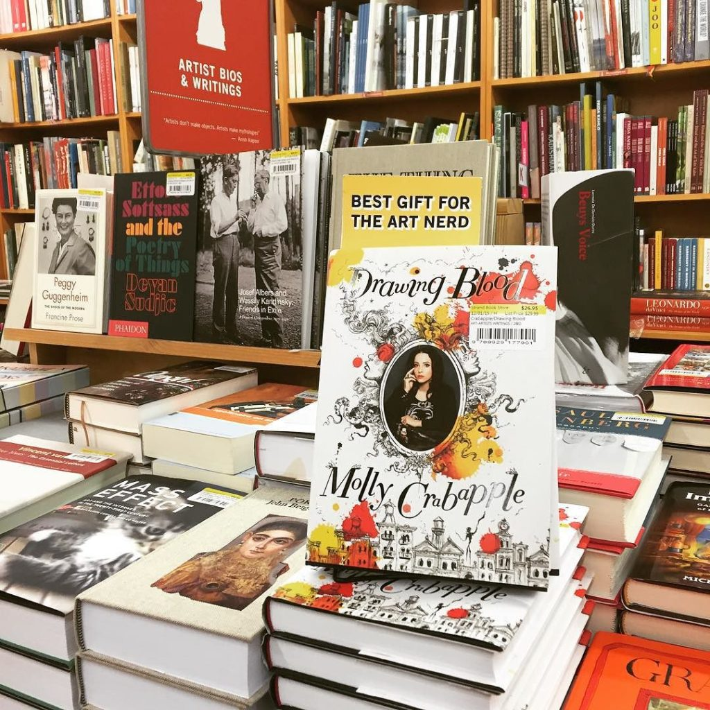 Strand_Bookstore_on_NYC_has_a_bunch_of_signed_copies_of_Drawing_Blood_by_mollycrabapple
