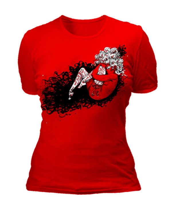 RED-womens-shirt