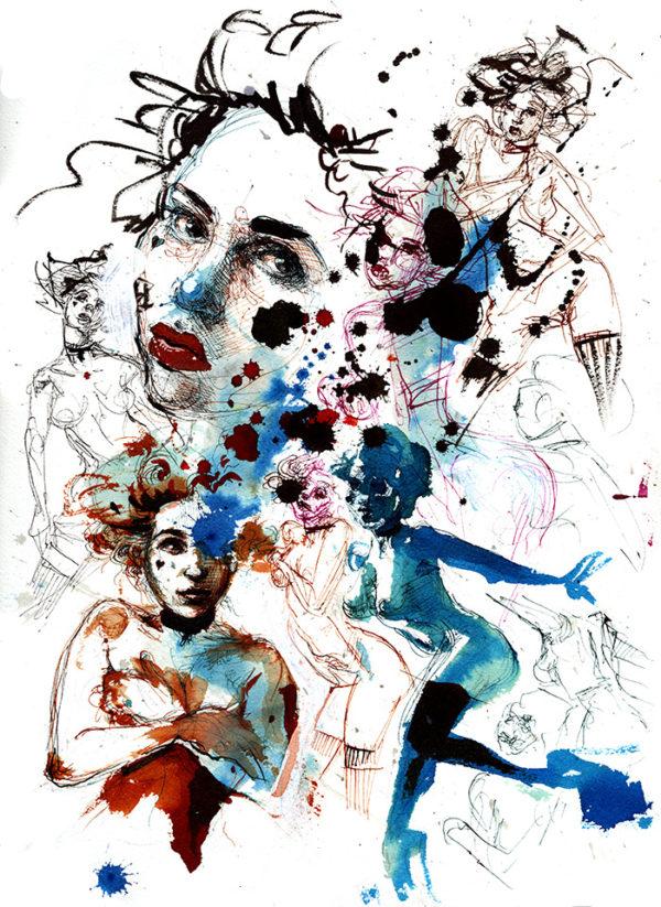 drawings of girl