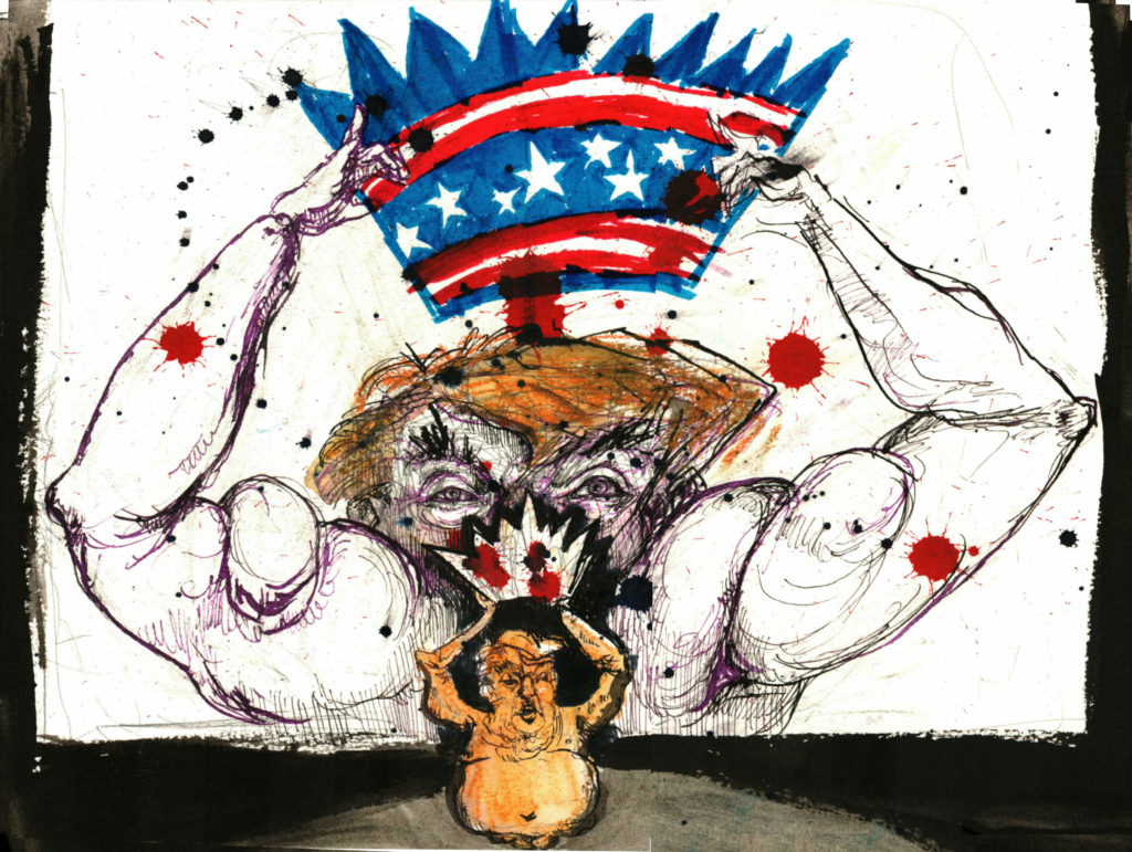 trump coronation